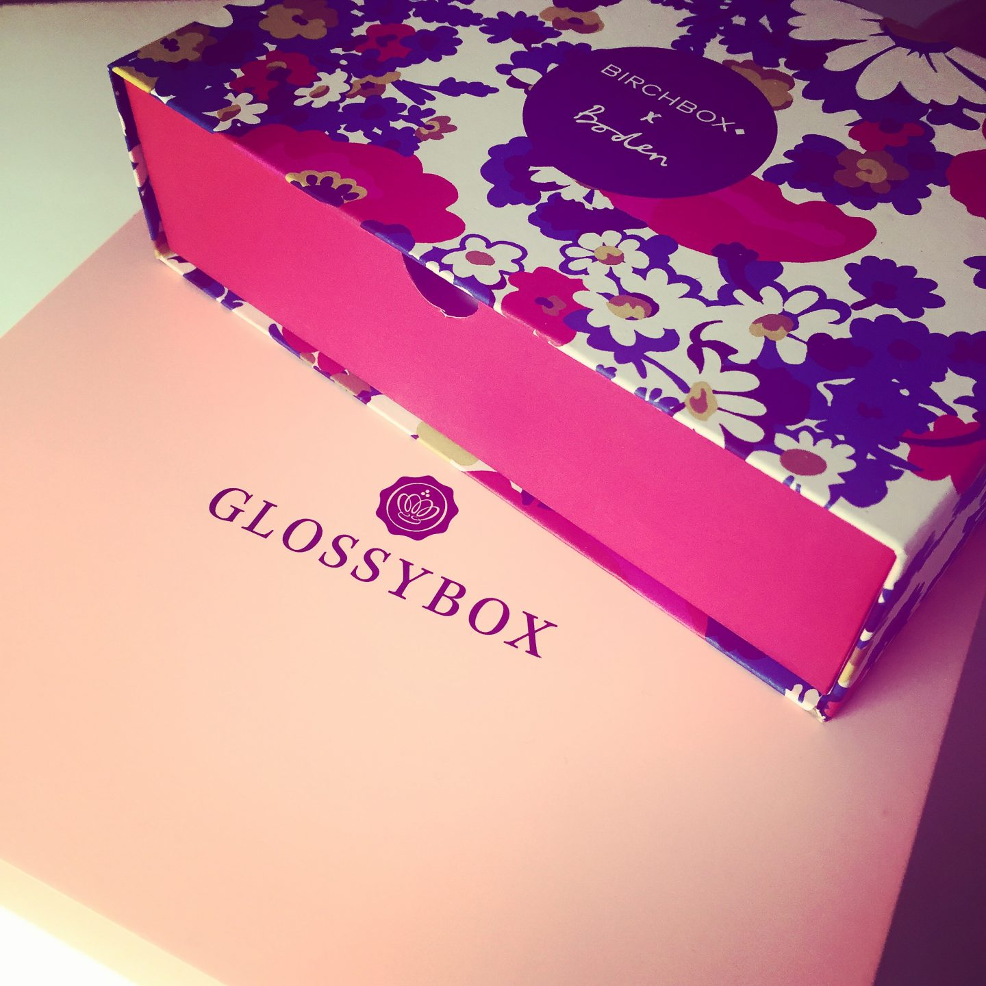 Birchbox vs. Glossybox | APRIL
