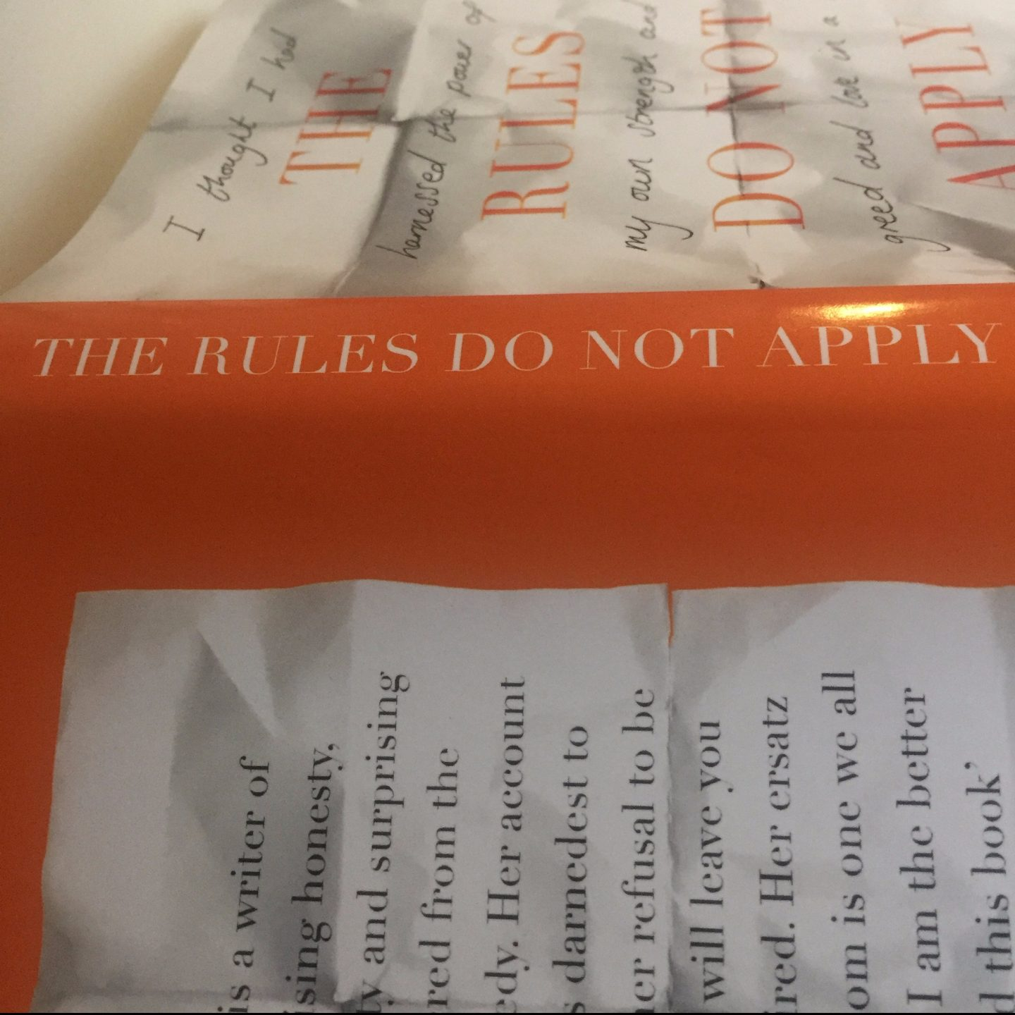 REVIEW │ The Rules Do Not Apply │ Ariel Levy